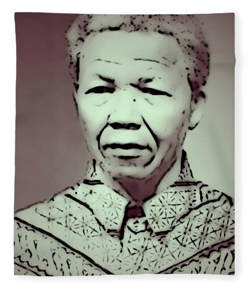 Mandela Fleece Blanket