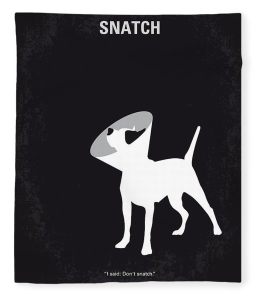 No079 My Snatch Minimal Movie Poster Fleece Blanket