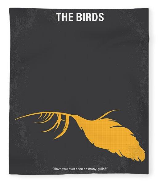 No110 My Birds Movie Poster Fleece Blanket