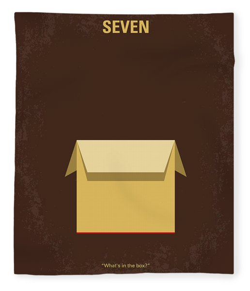 No233 My Seven Minimal Movie Poster Fleece Blanket
