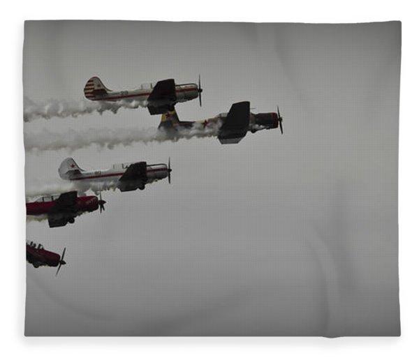 Norteast Raiders At The Greenwood Lake Airshow 2012 Fleece Blanket