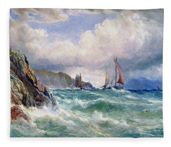 Off Cape Clear    County Cork Fleece Blanket
