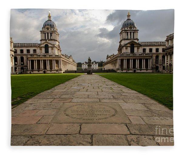 Old Royal Naval College Fleece Blanket