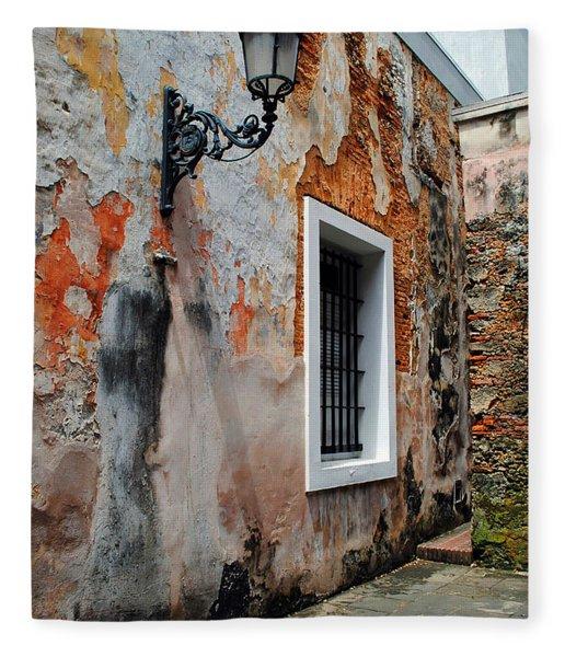 Old San Juan Jail Fleece Blanket
