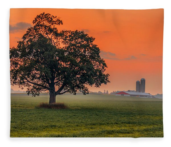 Fleece Blanket featuring the photograph One Fine Morning by Garvin Hunter
