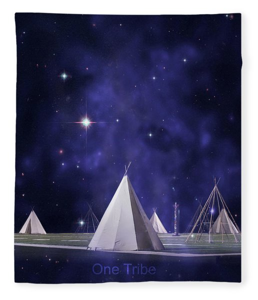 One Tribe Fleece Blanket