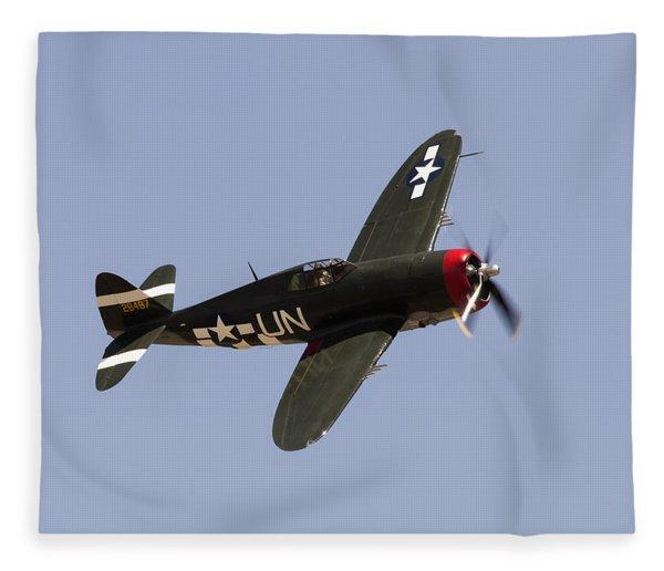 P-47 Thunderbolt Fleece Blanket