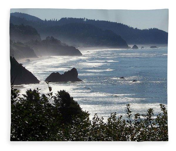 Pacific Mist Fleece Blanket
