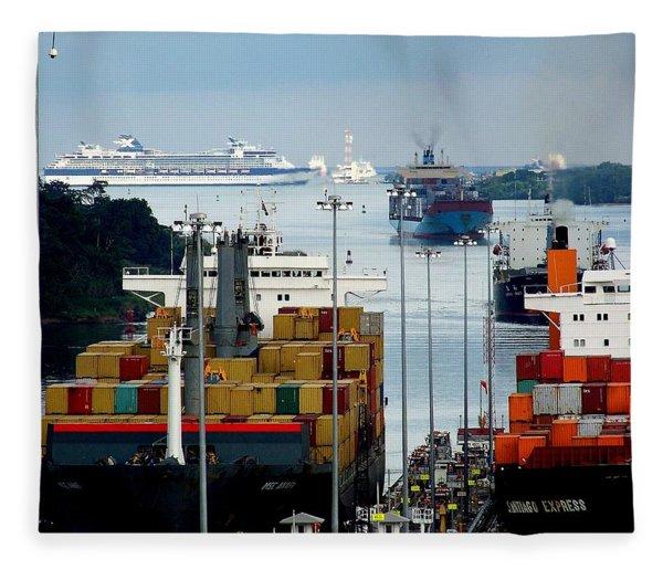 Panama Express Fleece Blanket