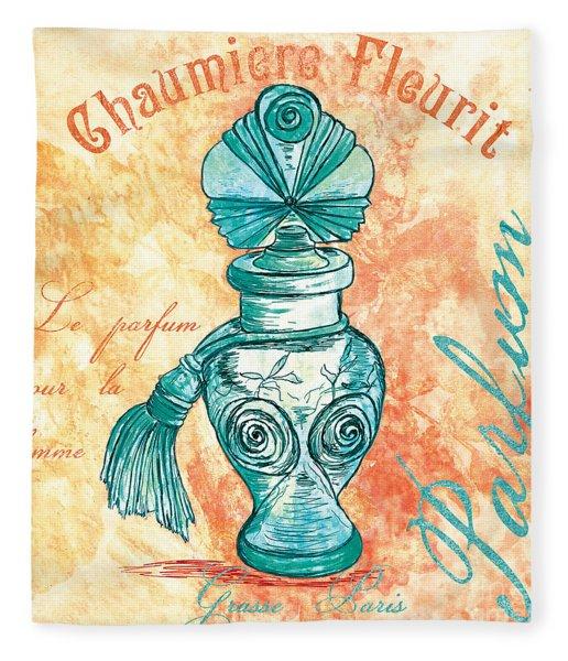 Parfum Fleece Blanket