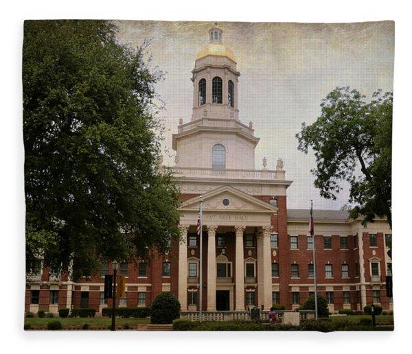 Pat Neff Hall - Baylor University Fleece Blanket