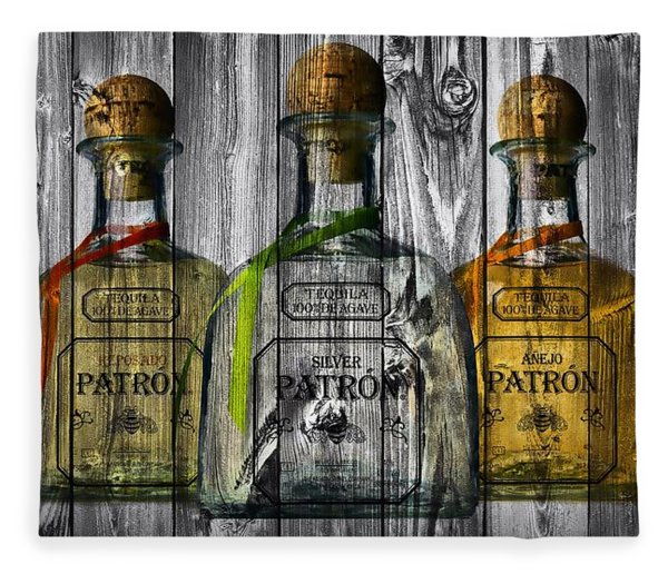 Patron Barn Door Fleece Blanket