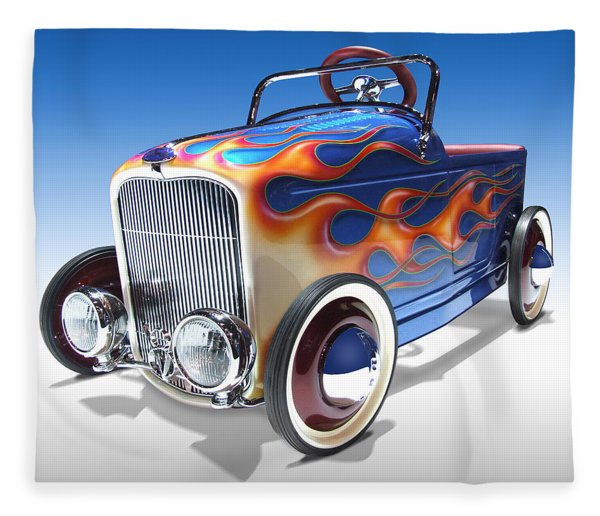 Peddle Car Fleece Blanket