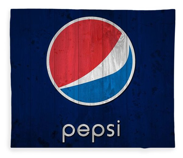Pepsi Barn Sign Fleece Blanket