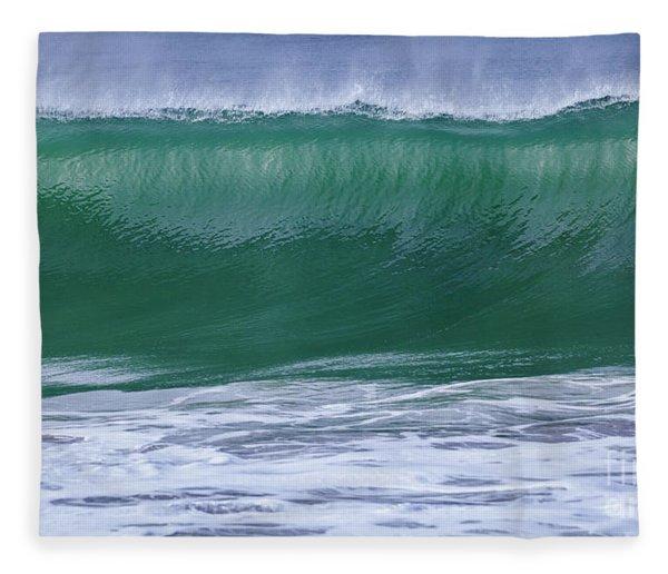 Perfect Wave Large Canvas Art, Canvas Print, Large Art, Large Wall Decor, Home Decor, Photograph Fleece Blanket