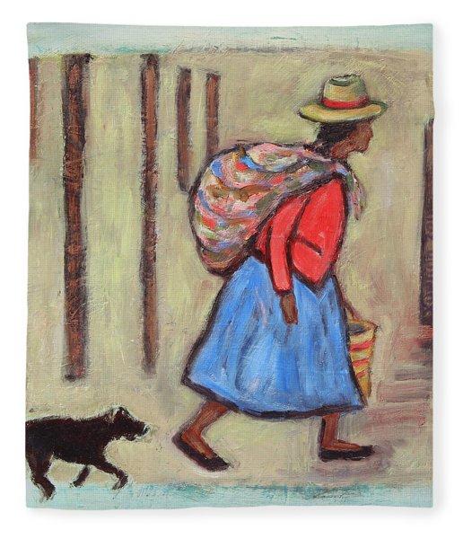 Peru Impression I Fleece Blanket