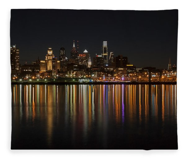 Philly Night Fleece Blanket