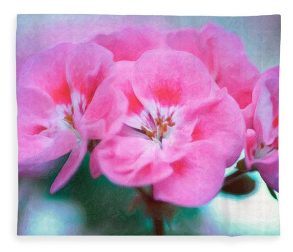 Fleece Blanket featuring the photograph Pink Beauty by Garvin Hunter
