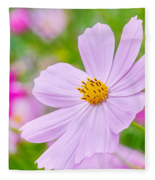 Fleece Blanket featuring the photograph Pink Flower  by Garvin Hunter