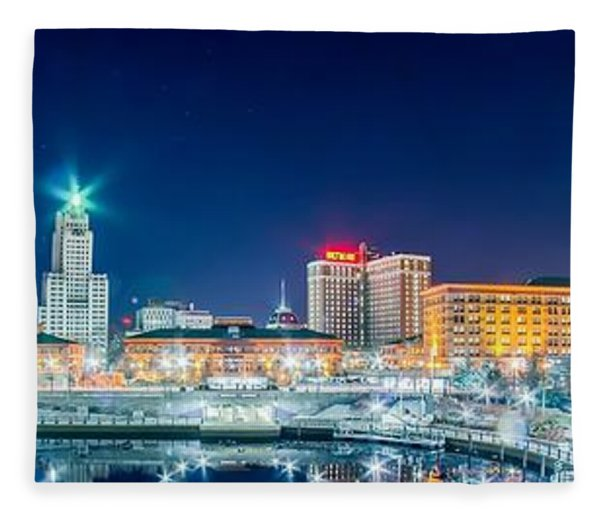 Fleece Blanket featuring the photograph Providence by Alex Grichenko