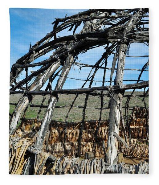 Rancho Sierra Vista Satwiwa Chumash Ap Home Fleece Blanket