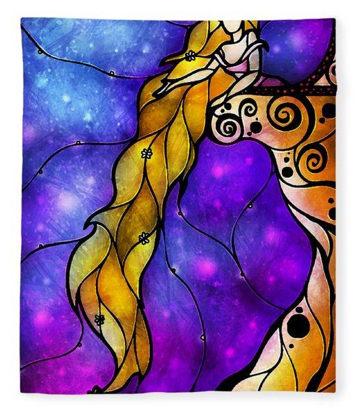Rapunzel Fleece Blanket