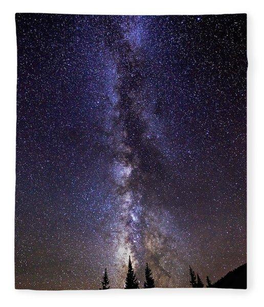 Red Mountain Milky Way Fleece Blanket