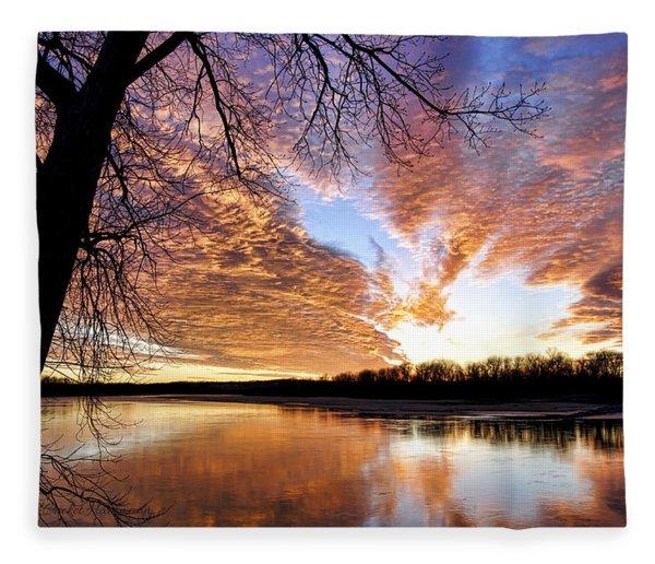 Reflected Glory Fleece Blanket