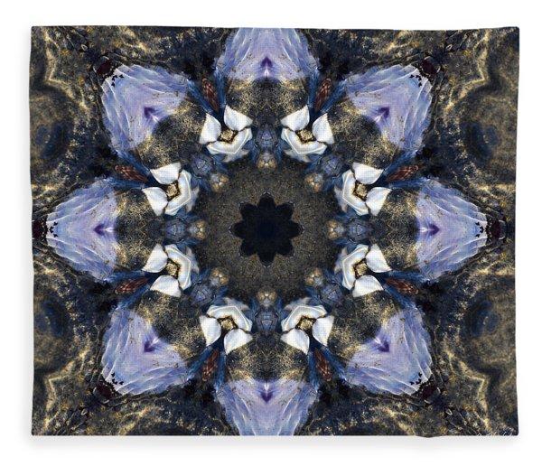 Reflection - Kaleidoscope Art Fleece Blanket