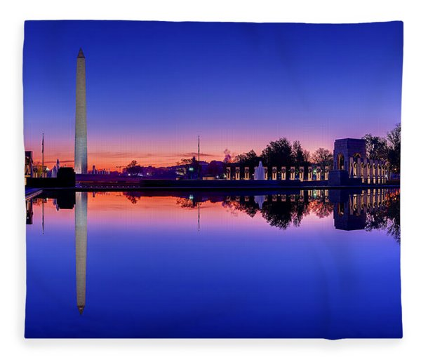 Reflections Of World War II Fleece Blanket