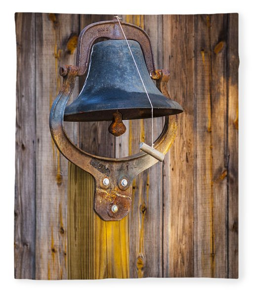 Fleece Blanket featuring the photograph Ring My Tennessee Bell by Carolyn Marshall