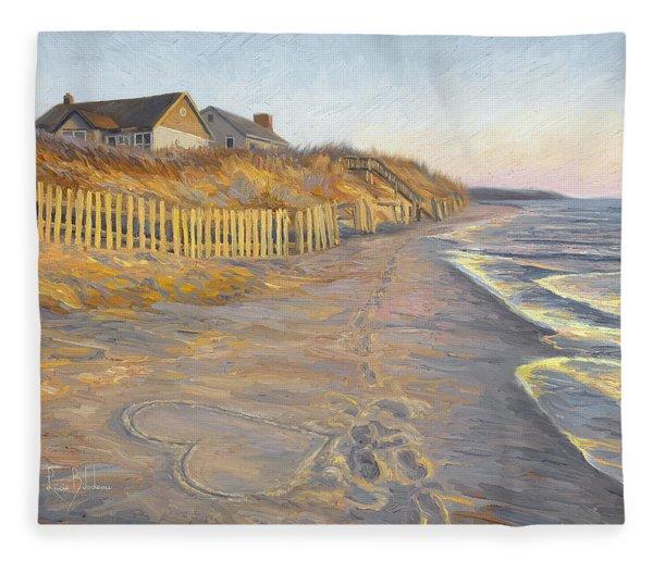 Romantic Getaway Fleece Blanket