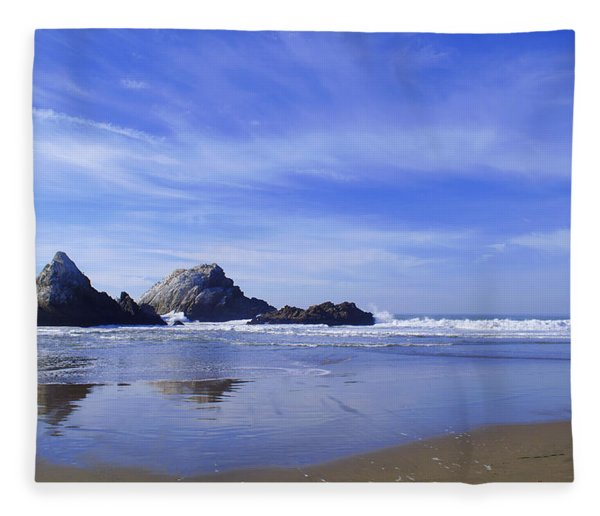 Rugged Reflections Fleece Blanket