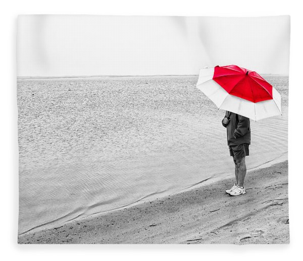 Safe Under The Umbrella Fleece Blanket