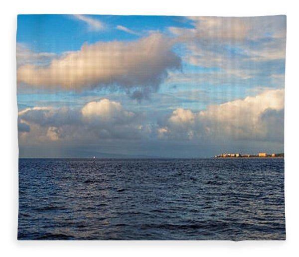Sailing To Lahaina Fleece Blanket