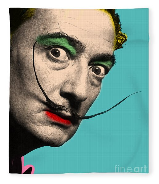 Salvador Dali Fleece Blanket