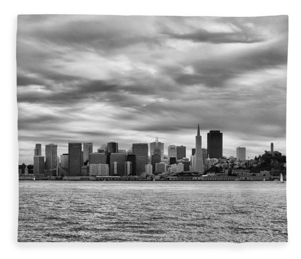 San Francisco Bay Fleece Blanket