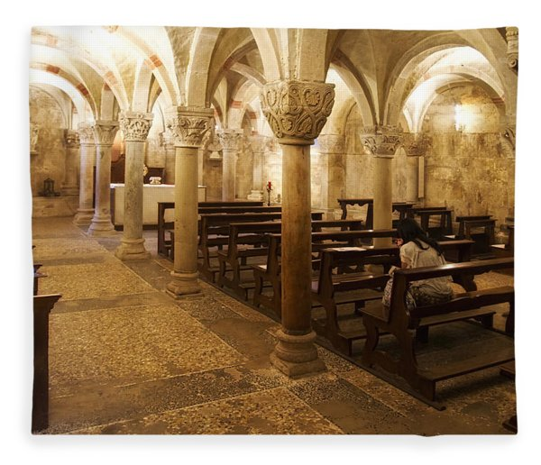 San Michele Chapel Fleece Blanket