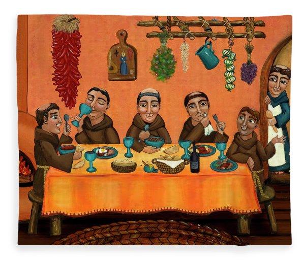 San Pascuals Table Fleece Blanket