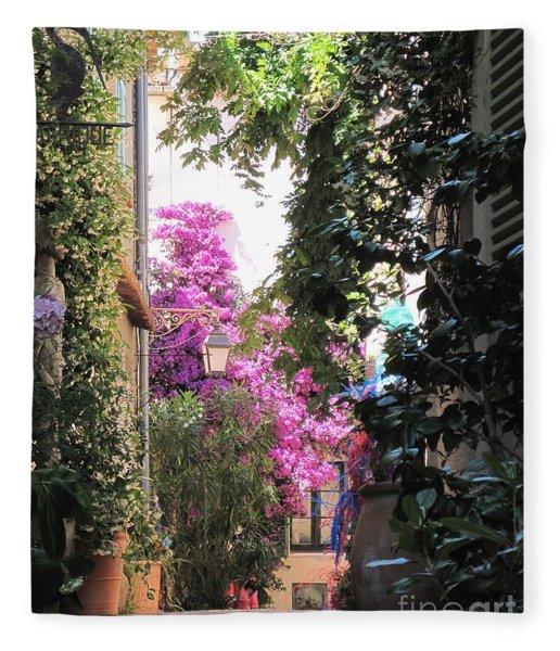 St Tropez Fleece Blanket