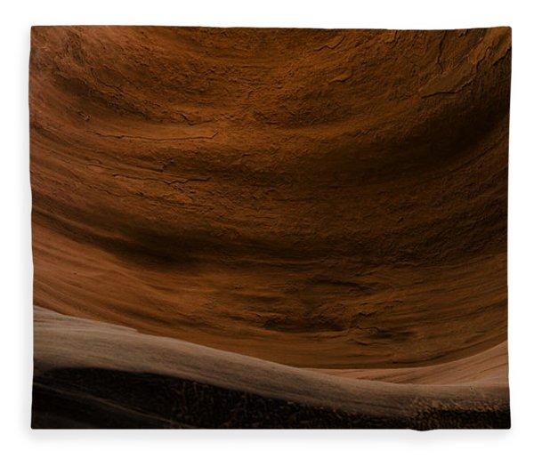 Sandstone Flow Fleece Blanket