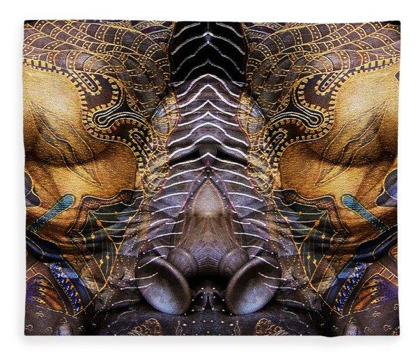 Sculpture 1 Fleece Blanket