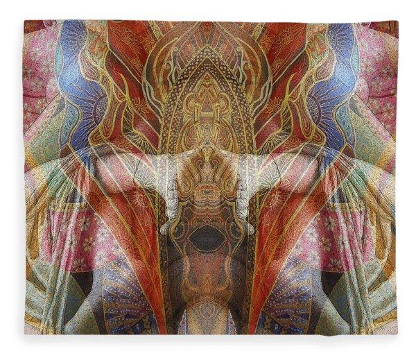Sculpture 2 Fleece Blanket