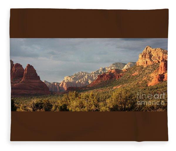 Sedona Sunshine Panorama Fleece Blanket