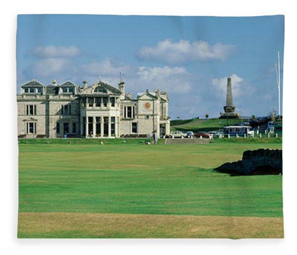 Silican Bridge Royal Golf Club St Fleece Blanket