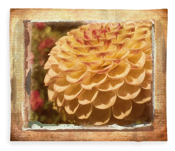 Simply Moments - Flower Art Fleece Blanket
