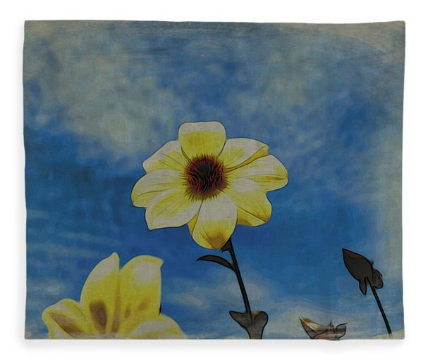 Sky Full Of Sunshine Fleece Blanket
