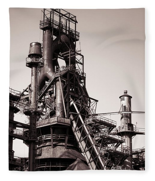 Smelting Furnace Fleece Blanket