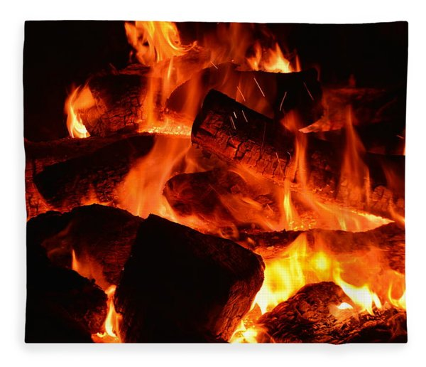 Some Like It Hot Fleece Blanket