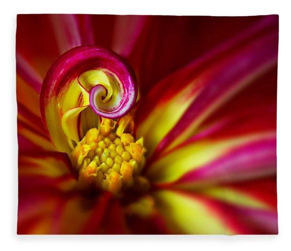 Spiral Fleece Blanket